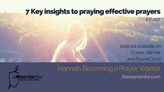 017: Seven Insights for Effective Prayer