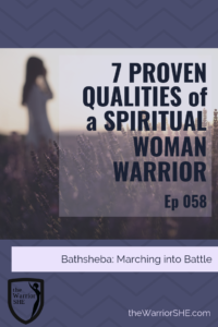 Do you ever struggle to consider yourself a Warrior? Do you wonder if you have the right mix of qualities for that title, due to all the turmoil and trouble swirling about in your life? What if that's the exact thing which qualifies you to step forward and realize the warrior within?